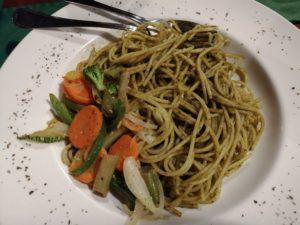Vegetarian Organic Pesto Pasta